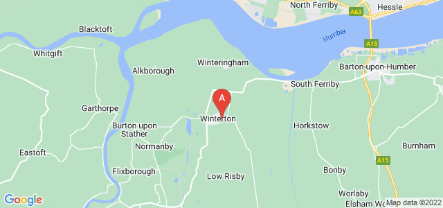 Google static map for Winterton