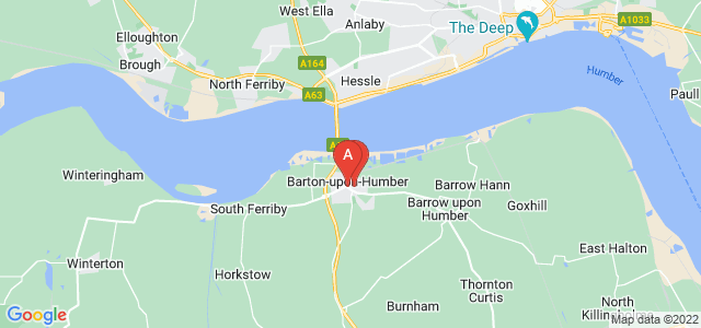Google static map for Barton Upon Humber