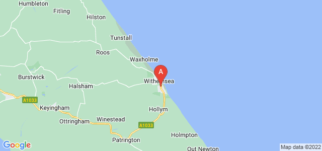 Google static map for Withernsea