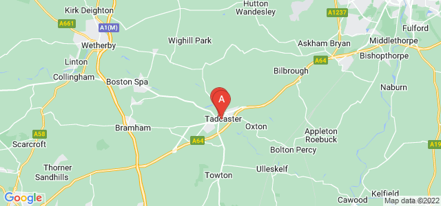 Google static map for Tadcaster