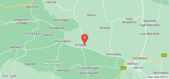 Google static map for Slingsby
