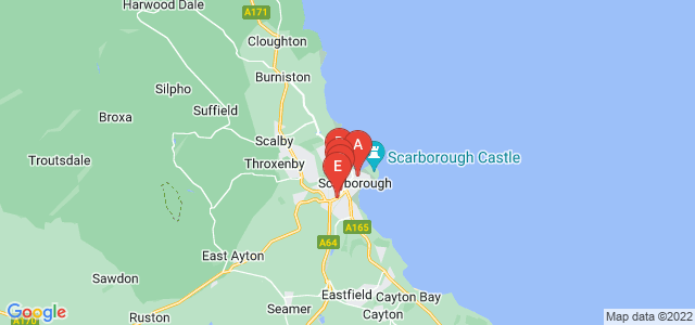 Google static map for Scarborough
