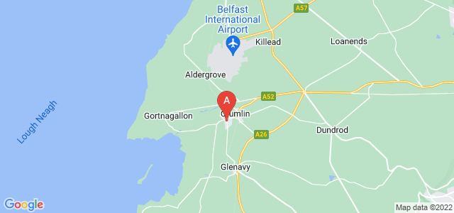 Google static map for Crumlin