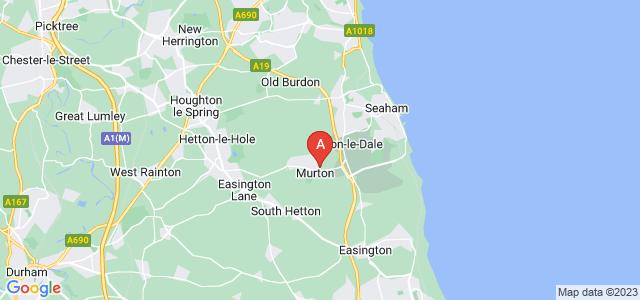 Google static map for Murton