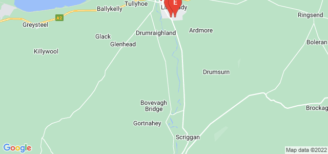 Google static map for Limavady