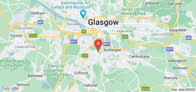 Google static map for Mount Florida