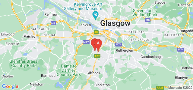 Google static map for Shawlands