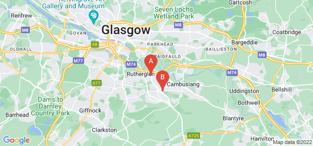 Google static map for Rutherglen