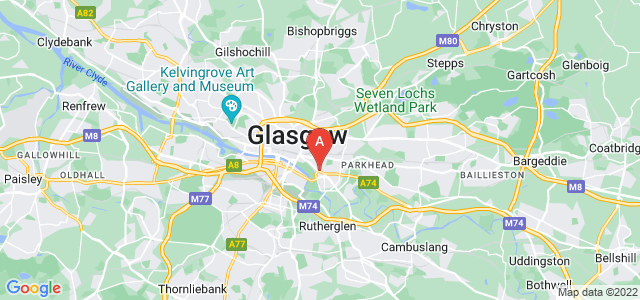 Google static map for Bridgeton