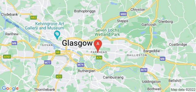 Google static map for Parkhead
