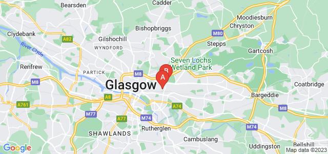 Google static map for Dennistoun