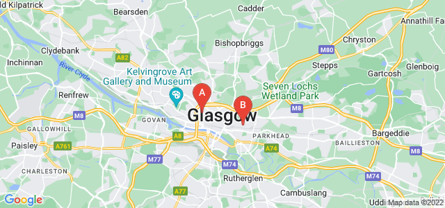 Google static map for City Centre