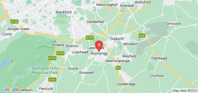 Google static map for Bonnyrigg
