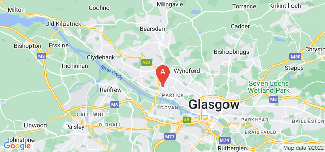 Google static map for Broomhill