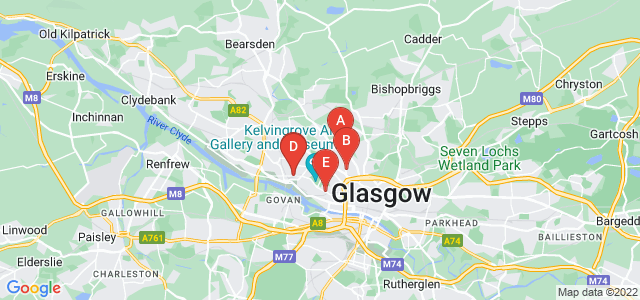 Google static map for West End