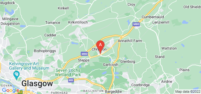 Google static map for Chryston