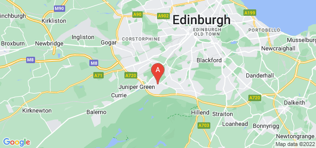 Google static map for Colinton