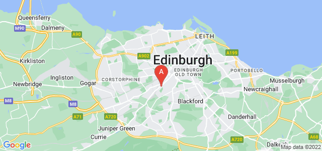 Google static map for Dalry