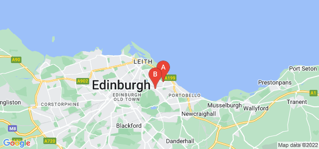 Google static map for Craigentinny