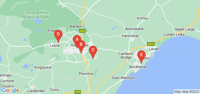Google static map for Fife