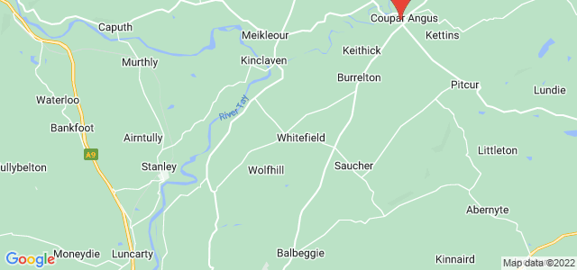 Google static map for Perth And Kinross