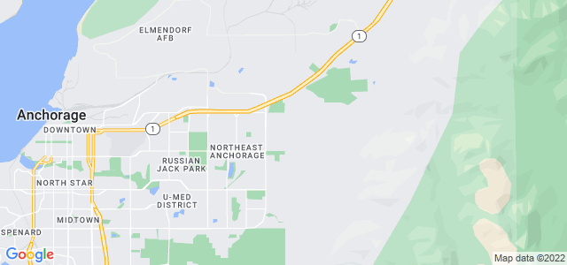 Google static map for Anchorage