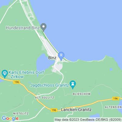 Hier ist Ihr Urlaubsobjekt auf der Karte zu finden.