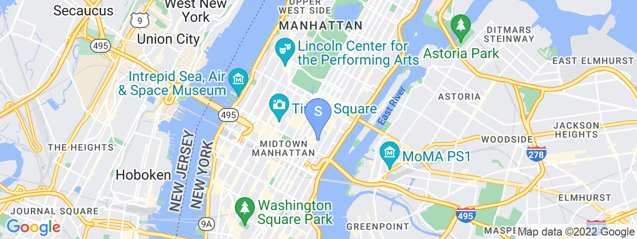 Map Location for Grand Central  - 733 3rd Avenue