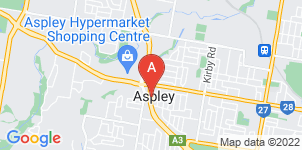 Google static map for Anton Brown Funerals