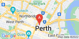 Google static map for Bowra & O'Dea, Perth