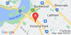 Google static map for Purslowe Funerals, Victoria Park