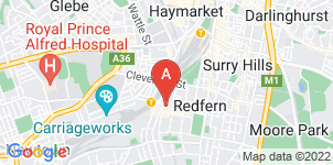 Google static map for J. Medcalf Funerals