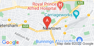 Google static map for Simplicity Funerals, Newtown