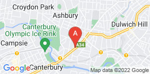 Google static map for Elite Funeral Directors