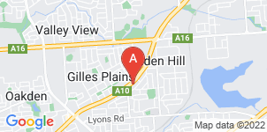 Google static map for Alfred James Funeral Home, Holden Hill