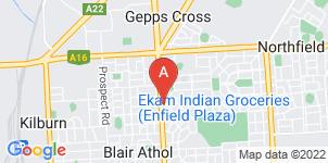Google static map for Simplicity Funerals, Enfield