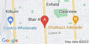 Google static map for Elliott Funeral Services