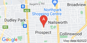 Google static map for Alfred James Funeral Home, Prospect