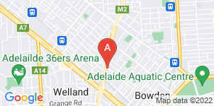 Google static map for Rockingham Funeral Director