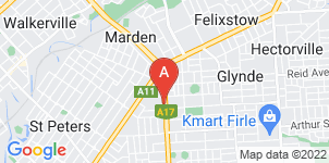Google static map for Blackwell Funerals, Payneham