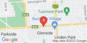 Google static map for Blackwell Funerals, Glenside
