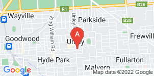 Google static map for Alfred James Funeral Home, Unley