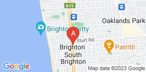 Google static map for Fulham Funerals, Brighton
