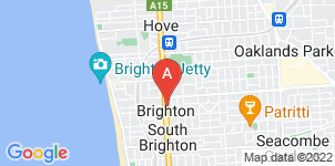 Google static map for Fulham Funerals, Brighton