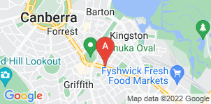 Google static map for Tobin Brothers Funerals, Canberra