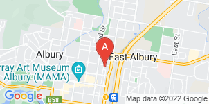 Google static map for John Hossack Funeral Services, Albury