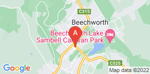 Google static map for John Hossack Funeral Services, Beechworth