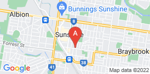 Google static map for Nelson Bros Funeral Services, Sunshine