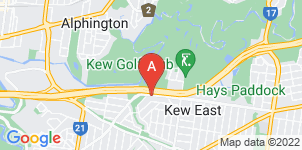 Google static map for Syd Peek & Daughter Funeral Directors, Kew East