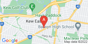 Google static map for Le Pine Funerals, Kew East